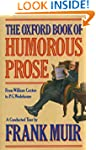 The Oxford Book of Humorous Prose fro...