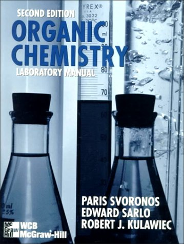 organic chemistry ii laboratory manual Text: chemistry 273 organic laboratory procedures the lab manual is not available at the bookstore, but through the marketing and publication service on campus .