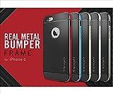 ネオハイブリッドメタル iPhone6 4.7インチケース iPhone6 4.7inch ケース アイフォン6 4.7インチカバー iPhone6 カバー : metal-blue