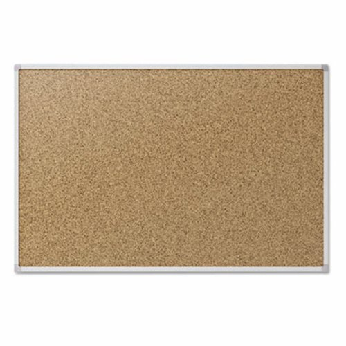 Mead Classic Cork Bulletin Board, 4 x 3 Feet, Aluminum Frame (85362) (Huge Cork Board compare prices)