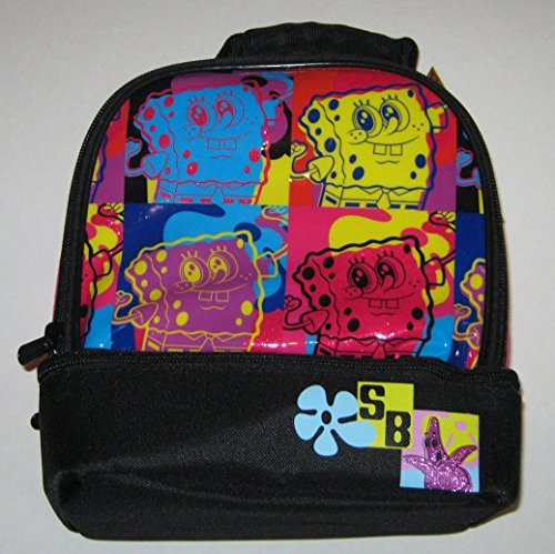 Nickelodeon Sponge Bob Square Pants Insulated Lunch Tote - 1