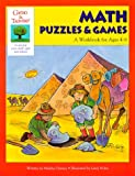 img - for Gifted and Talented: Math Puzzles and Games: A Workbook for Ages 4-6 (Gifted & Talented Series) book / textbook / text book