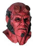 Hellboy 2 Hellboy Deluxe Overhead Latex Mask ヘルボーイ2ヘルボーイデラックスオーバーヘッドラテックスマスク♪ハロウィン♪サイズ:One Size