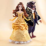 Disney Limited Edition Beauty And The Beast Dolls - Collectable