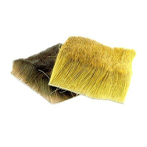 taimen-fly-tying-deer-hair-color-brown