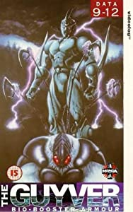 The Guyver: Data - 9-12 [VHS]