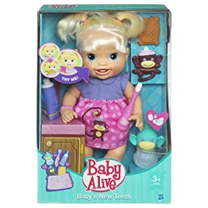 Búp bê Baby Alive Baby's New Teeth