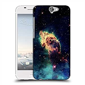 Snoogg Meteorite space Designer Protective Back Case Cover For HTC one A9