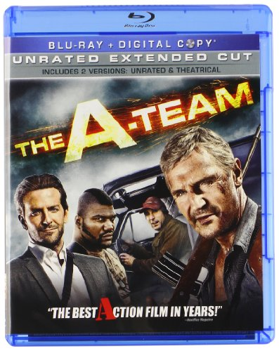Cover art for  The A-Team (+ Digital Copy) [Blu-ray]