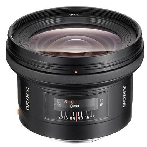 Sony Alpha 20mm F2.8 Lens