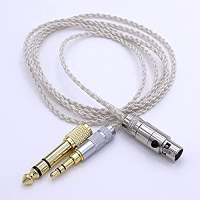 1.2M 5N OCC Hi-End HIFI Cable Headphone Upgrade Cable for AKG K272 K242 K702 Q701