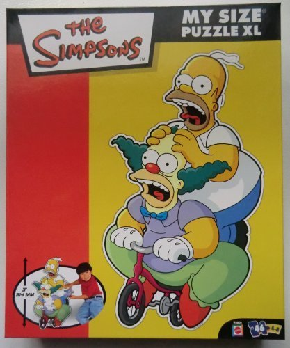 The Simpsons My Size Puzzle XL - 1