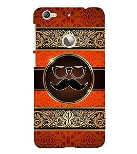 Moustache Uncle 3D Hard Polycarbonate Designer Back Case Cover for LeEco Le 1s :: LeEco Le 1s Eco :: LeTV 1S