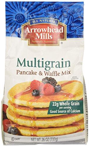 Arrowhead Mills Pancake & Waffle Mix, Multigrain, 26 oz (Grain Mill Back To Basics compare prices)