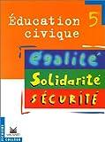 echange, troc Carsenat - Education civique 5e : livre élève
