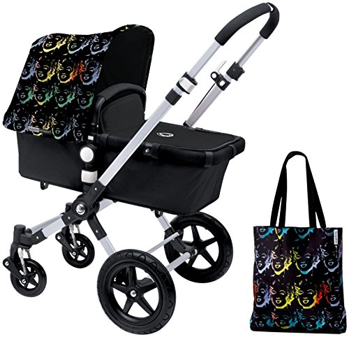 Bugaboo Cameleon3 Accessory Pack - Andy Warhol Marilyn/Black (Special Edition)