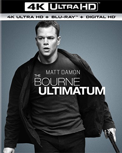 4K Blu-ray : The Bourne Ultimatum (With Blu-Ray, Ultraviolet Digital Copy, 4K Mastering, Snap Case, Slipsleeve Packaging)