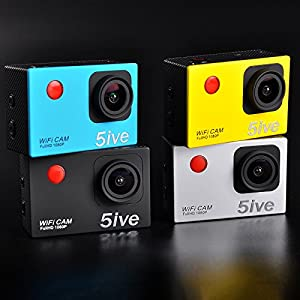 5IVE® F56 Waterproof Wifi Action Camera DV 12MP 1080P HD DVR Camcorder + Mounting Accessories & Remote Control
