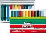 ぺんてる パステル 12色 Aタイプ D