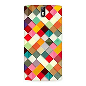 Impressive ColorFull Ribbons Print Back Case Cover for One Plus One