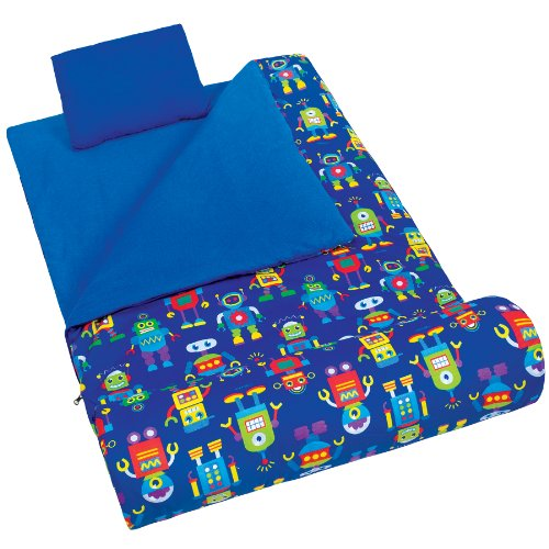 Olive Kids Robots Original Sleeping Bag (Wildkin Robot Nap Mat compare prices)