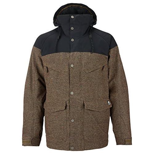 Burton(バートン) MB HELLBROOK JK メンズヘルブルックジャケット 100251 TWEED/TRUE BLACK Mサイズ