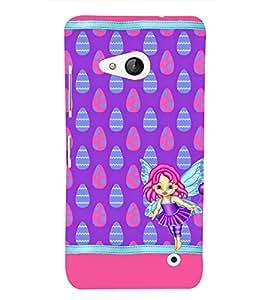 Angel Baby 3D Hard Polycarbonate Designer Back Case Cover for Lumia Lumia 550 :: Microsoft Lumia 550