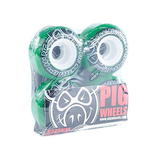 pig-spirale-street-cruiser-skateboard-ruote-verde-88-a-55-mm