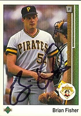 Brian Fisher autographed Baseball Card (Pittsburgh Pirates) 1989 Upper Deck #69