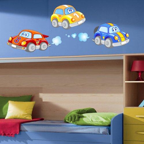 Happy Buggy -Adesivi Murali -Wall Stickers per la decorazione della casa e della cameretta