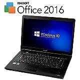 高性能Corei5!!【最新 Office 2016搭載】【最新OS Windows10 搭載】 東芝 Satellite L47 ( Core i5 2.4GHz / メモリ 4GB / HDD 160GB / DVD視聴可 / 15.6インチワイド / 無線LAN搭載(Wi-FiもOK) ) 中古 ノートパソコン TO00022