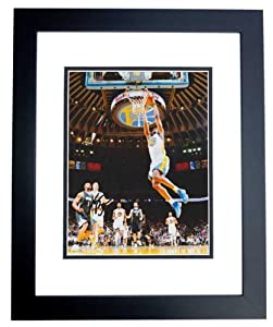 Harrison Barnes Autographed  Hand Signed Golden State Warriors 8x10 Photo - BLACK...