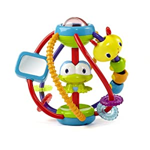 Bright Starts Clack And Slide Activity Ball by KIDS II