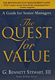 img - for The Quest for Value: A Guide for Senior Managers book / textbook / text book