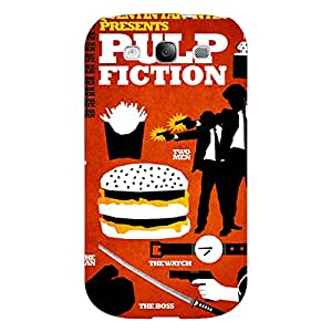 Jugaaduu Pulp Fiction Back Cover Case For Samsung Galaxy Grand Duos I9082