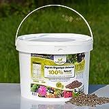 Agro Sens - Engrais biologique de ferme, fientes de poules pondeuses. Seau de 5 kg