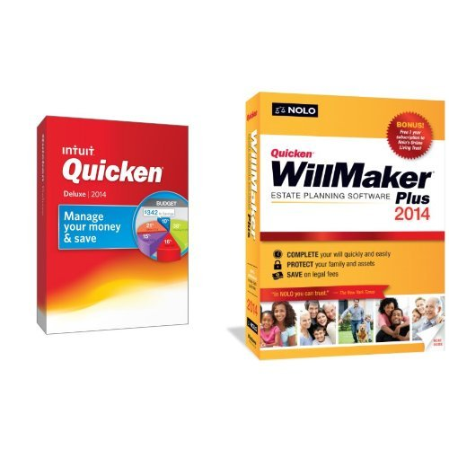 $59.99 for Quicken Deluxe & Quicken WillMaker Plus Bundle