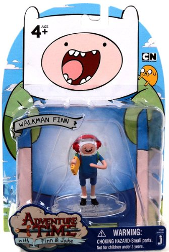 Adventure Time2 Inch Mini Figure Walkman Finn - 1
