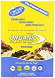 Organic Food Bar, Protein, 75 Gram Bars,  (Pack of 12)