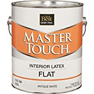 Master Touch Latex Flat Interior Wall Paint-INT FLT ANTQ WHITE PAINT