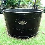 [Amazon限定]ウイスキーの樽タブ:椀型60 黒[鉢][サントリー]