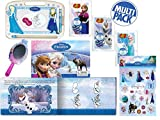 Disney Frozen Story Book with Magical Writing Pad, Stickers, Play Mirror/Memo Pad and 3 Packs of Jelly Beans Gift Set