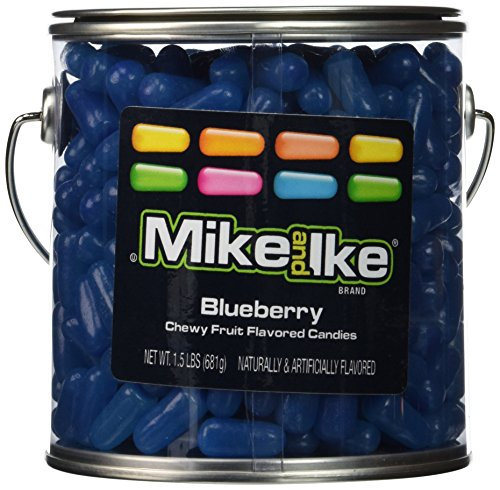 mike-and-ike-party-pail-black-label-candy-blueberry-15-pound