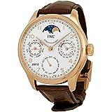 [アイダブリューシー]IWC 腕時計ポルトギーゼ・パーペチュアル・カレンダー 18Kレッドゴールド×アリゲーター・ストラップ ダークブラウン IW502306 メンズ [メーカー保証付 ] [お取り寄せ品] [並行輸入品]