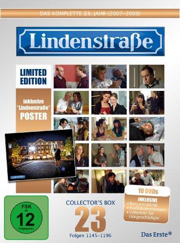 Die Lindenstraße - Das komplette 23. Jahr, Folgen 1145-1196 (Collector's Box Limited Edition,10 Discs)