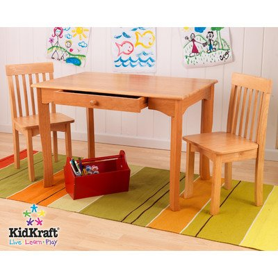 Kidkraft Avalon Table And Chair Set - Honey front-1051607