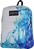 JanSport Superbreak Backpack - Multi/Blue Drip Dye / 16.7H x 13W x 8.5D