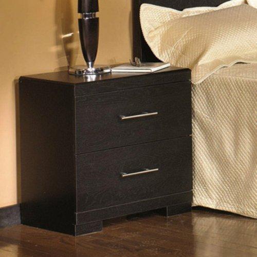Distressed Black Dresser front-933929