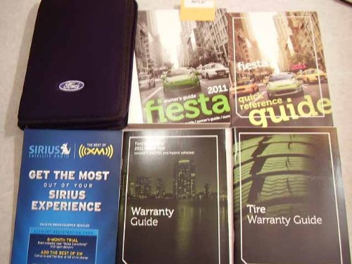 2011 Ford Fiesta Owners Manual (Ford Fiesta Manual compare prices)