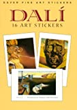 Dali: 16 Art Stickers (0486410749) by Dali, Salvador